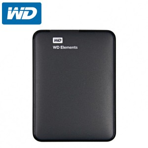 WD Element 1TB External Hard Disk - Black